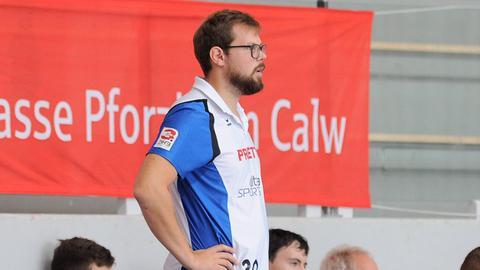 Frederick Griesbach, neuer Trainer des TV Hüttenberg.