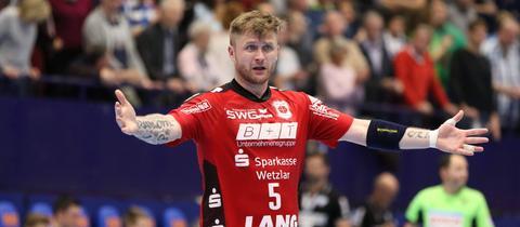 Tomas Sklenak vom TV Hüttenberg
