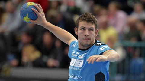 Tim Lauer vom TV Hüttenberg