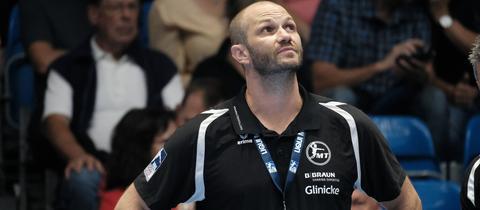 Melsungens Coach Heiko Grimm