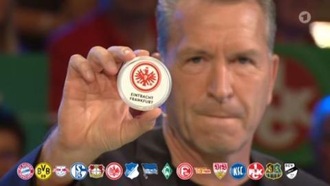 Andreas Köpke bei der DFB-Pokalauslosung