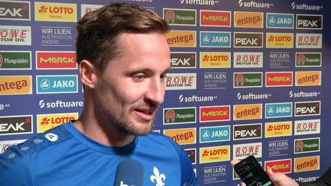 Sandro Sirigu vor Spiel gegen Bielefeld