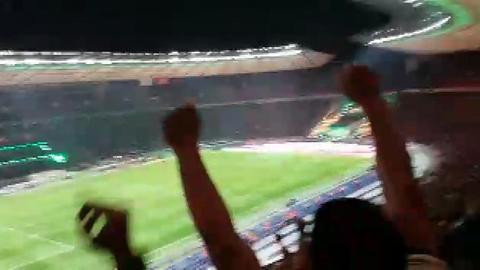 Ekstase in der Eintracht-Fankurve