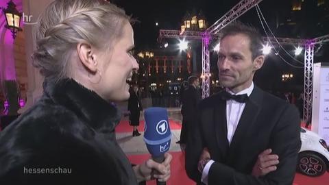Sven Hannawald im Interview mit Christiane Schwalm
