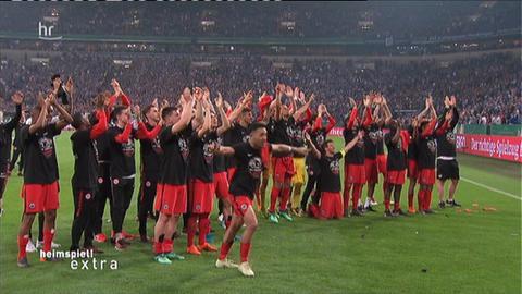 Eintracht feiert Finaleinzug