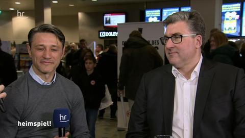 Niko Kovac und Axel Hellmann