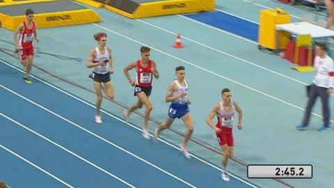 Marc Reuther und Lukas Abele kämpfen um die Medaillen