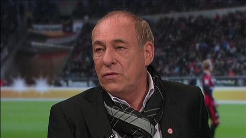Eintracht- Präsident Peter Fischer