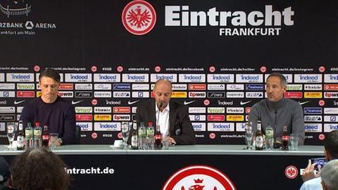PK mit Niko Kovac und Adi Hütter