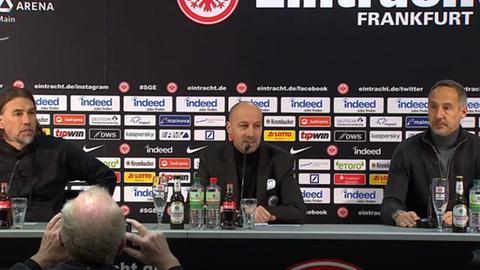 Pressekonferenz Eintracht - Augsburg