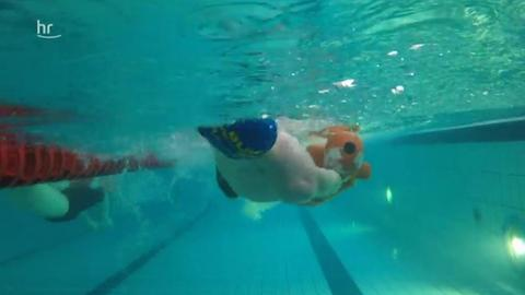 Schwimmer der DLRG bei den Hessischen Meisterschaften