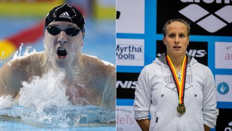 Marco Koch und Reva Foos