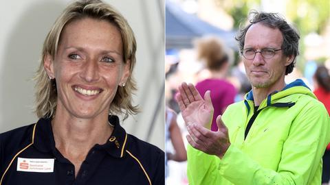 Claudia Dreher und Dieter Baumann