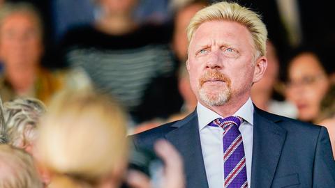 Boris Becker baut eine Tennishalle in Hochheim