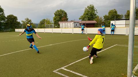 Training bei den Sportfreunden Blau-Gelb Marburg