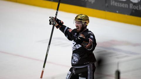 Löwen-Stürmer C.J. Stretch traf doppelt gegen die Huskies.