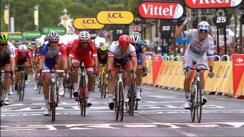 John Degenkolb wird Zweiter bei der Schlussetappe der Tour de France 2018