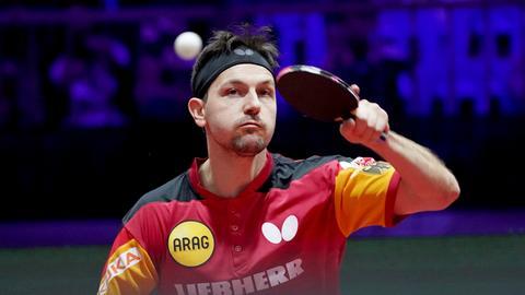 Timo Boll bei der Tischtennis-WM