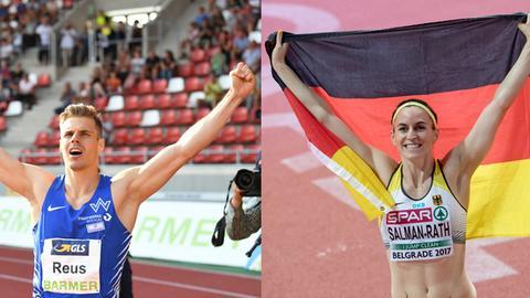 Julian Reus und Claudia Salman-Rath