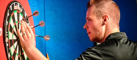 Max Hopp bei den German Open
