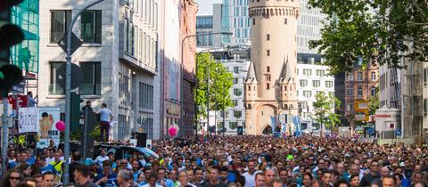 dpa Morgan Lauf Frankfurt