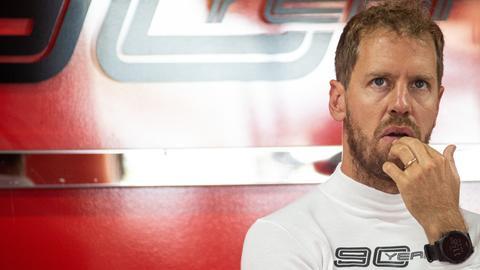 Sebastian Vettel mit Ehering