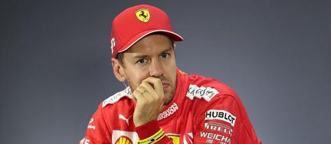 Sebasian Vettel schaut nachdenklich