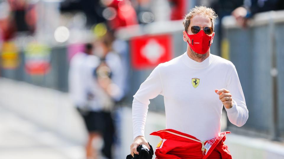 Sebastian Vettel rennt