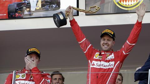 dpa Monaco Vettel