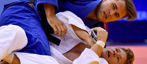 Der Frankfurter Judoka Alexander Wieczerzak