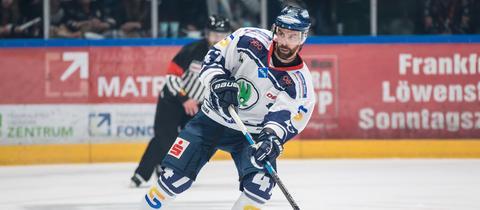 Derek Dinger war mit den Kassel Huskies erfolgreich.