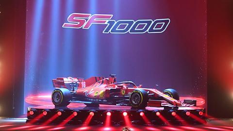 Ferrari SF1000 Vettel