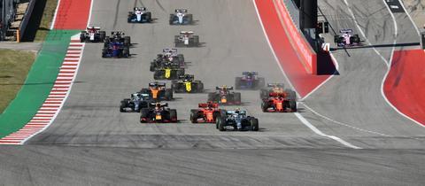 Lewis Hamilton sicherte sich den WM-Titel.