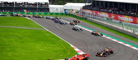 Charles Leclerc und Sebastian Vettel mussten sich erneut geschlagen geben.