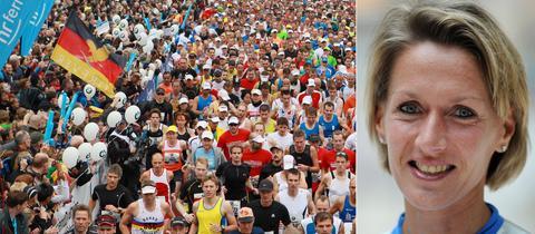 Collage Marathon Start Dreher