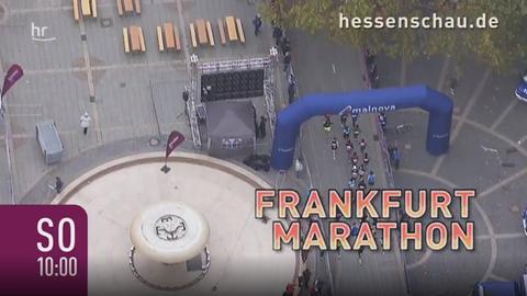 Der Frankfurt Marathon im hr-fernsehen