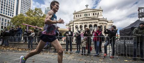 Arne Gabius beim Frankfurt Marathon