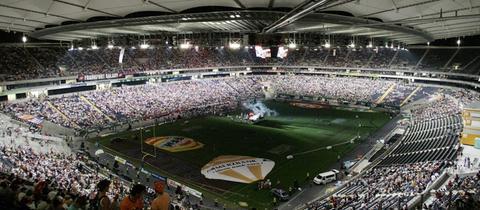 Frankfurt Galaxy gegen Berlin Thunder im Mai 2005.