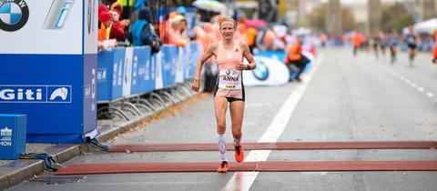 Anna Hahner hat sich trotz Problemen in Berlin durchgekämpft.