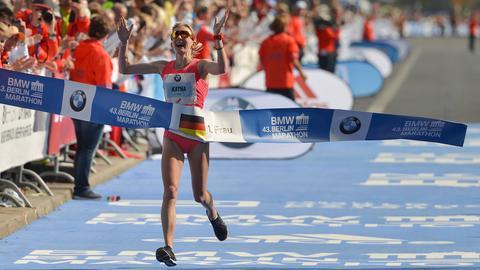 Katharina Heinig wird beste Deutsche in Berlin