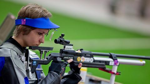 Sportschützin Natascha Hiltrop