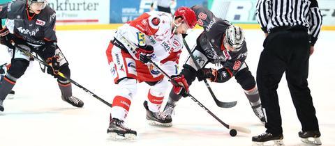 Die Löwen Frankfurt konnten sich im Duell gegen Crimmitschau durchsetzen.