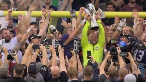 Frankfurt Galaxy feiert den Titelgewinn