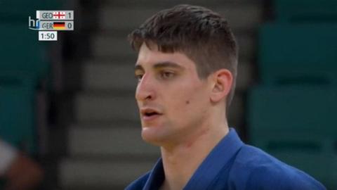 Standbild: Eduard Trippel beim Final-Kampf