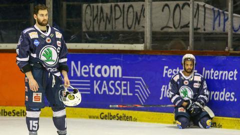 Kassel Huskies Enttäuschung