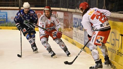 Die Kassel Huskies unterlagen im Heimspiel gegen Crimmitschau.