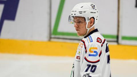 Stephen Tramm von den Kassel Huskies