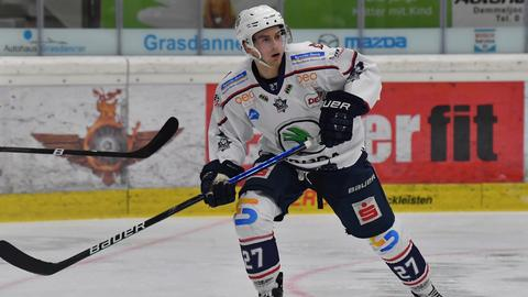 Eric Valentin von den Kassel Huskies