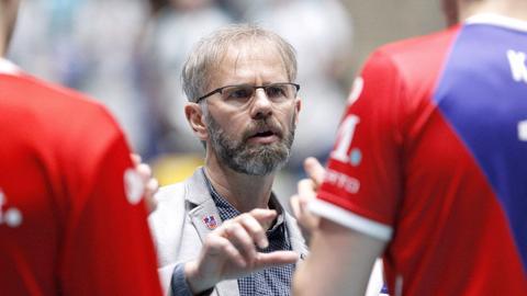 Michael Warm von den United Volleys