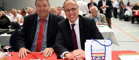 Rolf Müller und Peter Beuth